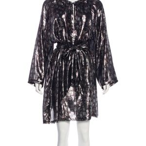 Lanvin metallic lamé Tunic/ dress/Top